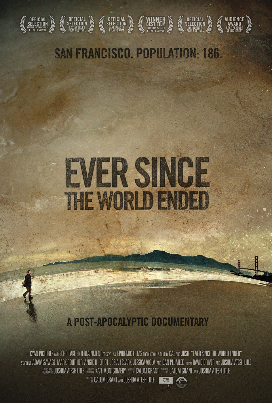 Poster design documentary - Ever Since The World Ended Movie Poster