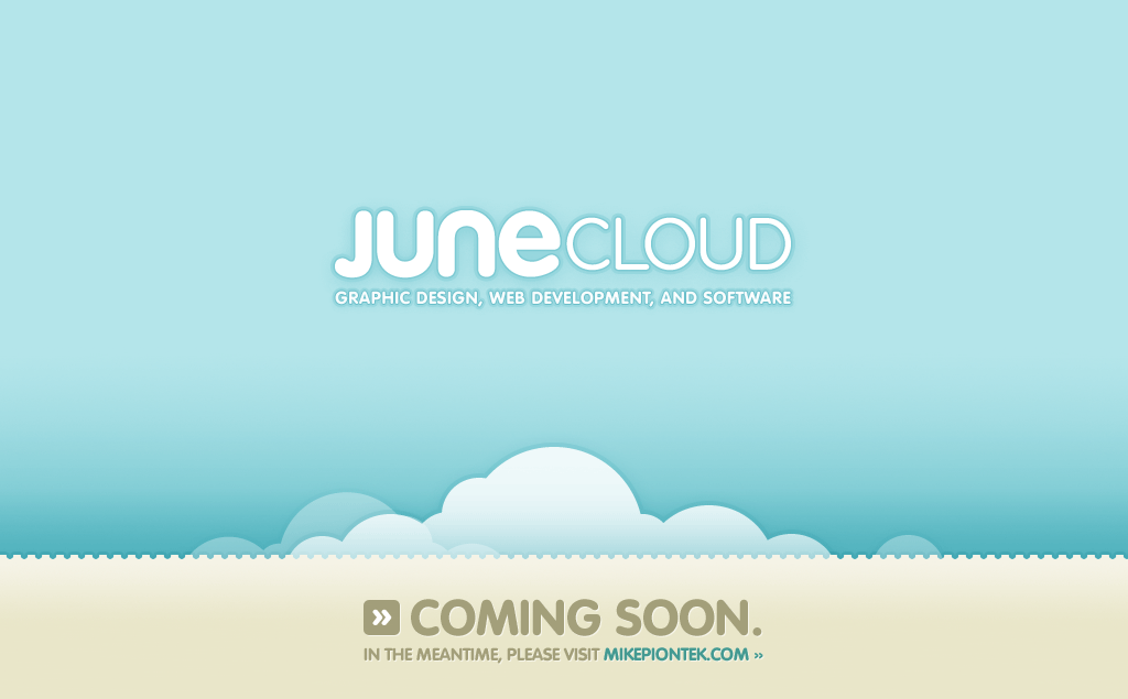 Junecloud: coming soon